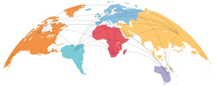 Avizor - Markets - World Map